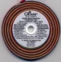Clover aufbügelbares Schrägband - Regenbogen 10 Meter