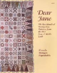 Dear Jane - Brenda Manges Papadakis
