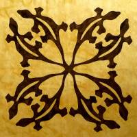 Wüstengeckos - Hawaii Muster Quilt/Kissen