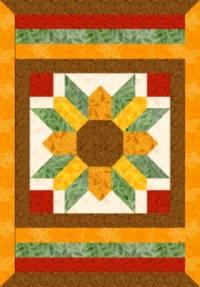 Helianthus quilticus - die quiltige Sonnenblume