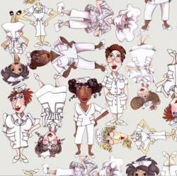 Nifty Nurses - Loralie Design