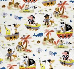 WIM Piraten Ahoi - weiss