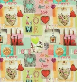 LOVE--- Mila *Oko Tex Standard 100* - 140 cm Breite