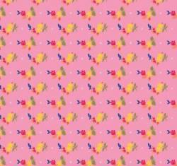 Penny Rose Fabrics - Pink Olivia Petals .