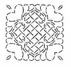 Quiltschablone 12 Inch  - 30 cm