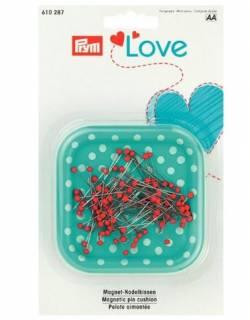 LOVE Magnetnadelkissen mit Stecknadeln von PRYM