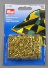 Prym Sicherheitsnadeln 120 Stück gebogen gold