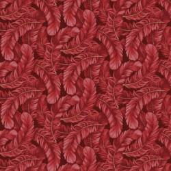 Dogwood Lane - Federn rot by Blank Quilting