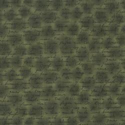 Quilters Basic Nilgrün mit feiner Schrift