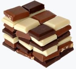 .SCHOKOLADE - von Bitterdunkel über Milchschokolade bis zu hellem Creme