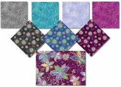 Enchanted Floral Medley - 8 Fat Quarter