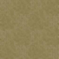 Quilters Basic mattes Braun mit Kreisen in Hellbraun und Nussbraun