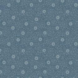 Quilters Basic Mattblaue Kreise marmoriert