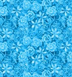Papillon Parade - blaue Rosen