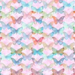 Papillon Parade -  Schmetterlinge auf rosa