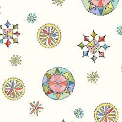 Fractures and Flourishes - Sterne Kompass und Blüten