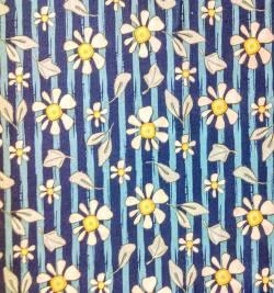 Steinbeck Gänseblümchen auf Blau