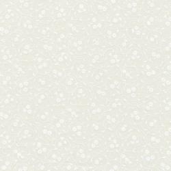 BALLEN - Weiss auf hell-creme BALLEN mit 4 Meter Quilting Illusions