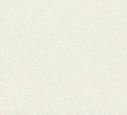BALLEN Weiss auf CREME mit 9,5 Meter - Blüten und Ranken   Santee NY
