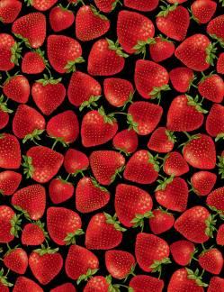 Food Festival - Erdbeeren Timeless Treasures