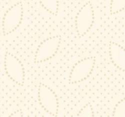 3 Meter Apple Cider P&B Textiles - kleine Blätter mit Punkten