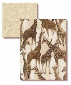 Quilter´s Duo 2 x 0,5 m - Giraffen sind auch hohe Tiere