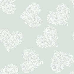 .RÜCKSEITENSTOFFPAKET Cory MINT 150 x 250 cm von Indigofabrics Spanien