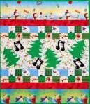 Swingende Weihnachtsbäume - Muster