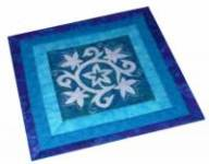 Der blaue Zaubergarten - Muster