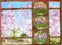Blühender Garten - Muster