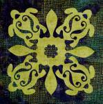 Honu - Schildkrötenquilt oder -kissen