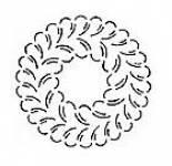 Quiltschablone 10 Inch  - 25 cm