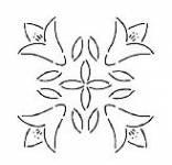 Quiltschablone 11 Inch  - 27,5 cm