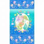 Mermaid Wishes - Northcott Paneel 61 x 110 cm