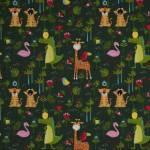 Lars - Dschungel-Tiere - 160 cm Breite