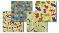 Autumn Hues Fat Quarter Paket - 4 FQ