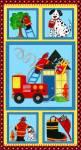 Five Alarm Fire - Feuerwehr Paneel 60 x 110 cm