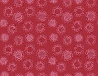 Patchwork Farms by Quilting Treasures - Blumen auf Rot
