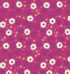 Enchanted Flowers Fuchsia - by Camelot Fabrics