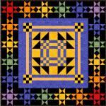 Malina - die Farben des Regenbogens 110 x 110 cm Anleitung pdf Datei
