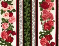 Paper Rose - Rose Stripe Endlosbordüre 11