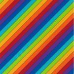 Little Noah - Regenbogen querstreif