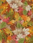 Birch Song - Herbstlaub multicolor - Timeless Treasures