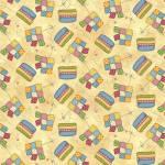 Sew let´s Stitch - Patches und Quilts mit Fäden auf Creme - Henry Glass
