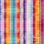 Hoffman Dotted Stripe Punch - Multicolor  #474