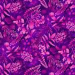 Butterfly Paradise - Blätter in pink aubergine - Elizabeth´s Studio