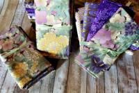 Fat Quarter Paket SAKURA Hoffman Fabrics - 4 Fat Quarter - 1 Meter