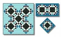 Nizza - ein Puzzle Quilt - Blockgröße 40 cm E-Book