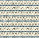 MINIBALLEN 0,8 m Marcus Fabrics - Meridian Star Collection - Blütenstreifen
