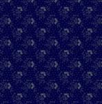 Marcus Fabrics - Mrs. Millers Apprentice - hellblaue Blumen auf dunkelblau